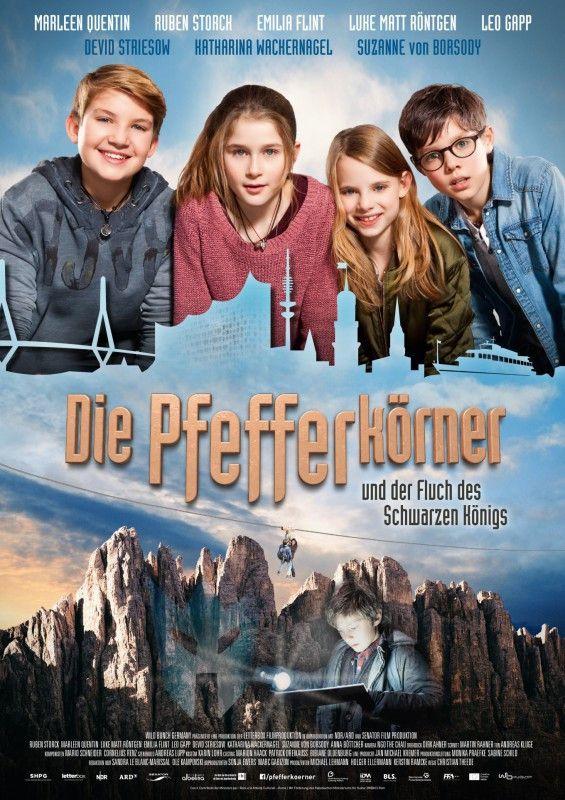"""Regisseur Christian Theede führt in seinem actionreichen Film """"Die Pfefferkörner und der Fluch des schwarzen Königs"""" ein sympathisches neues Ermittlerteam ein."""