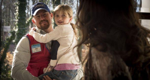 Jimmy (Channing Tatum) liebt seine kleine Tochter Sadie (Farrah Mackenzie) über alles.