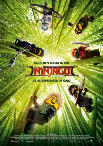 Im dritten Lego-Abenteuer schließen sich ein paar Jugendliche mit Superkräften zu einem Ninja-Team zusammen.