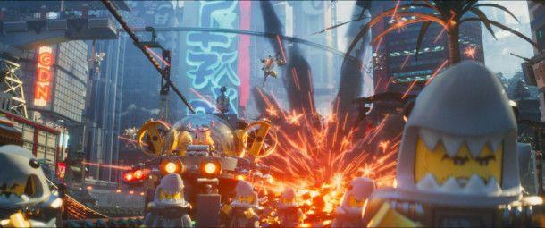 Auch der dritte Lego-Kinofilm verspricht reichlich Action.