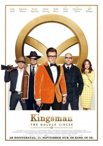 """Vor drei Jahren überraschte Matthew Vaughn mit """"Kingsman: The Secret Service"""". Nun kommt die Fortsetzung in die Kinos."""