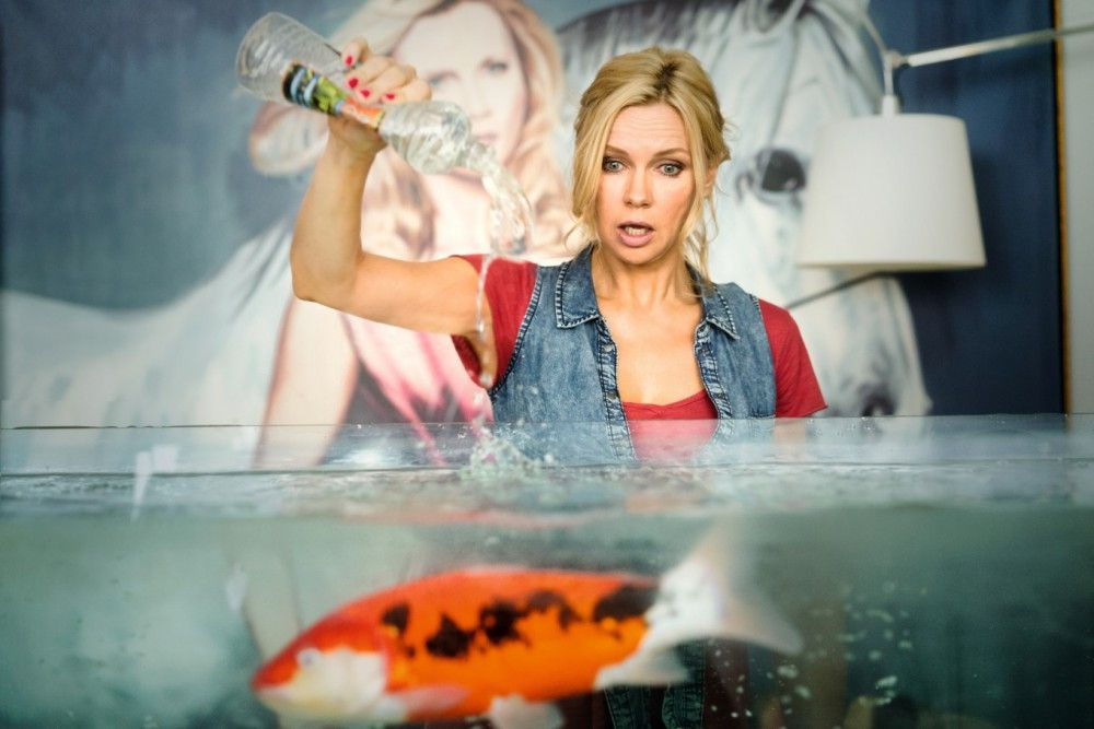 Linda (Veronica Ferres) versagt als Putzfrau - und bei Friedrichs Lieblingsfischen.