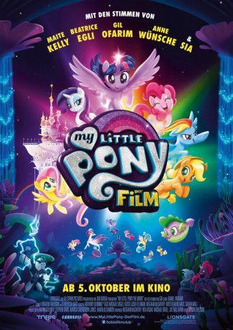 """Der Film zur Serie """"My Little Pony"""" von Regisseur Jayson Thiessen ist für die großen Fans zu vorhersehbar und für die Kleinen stellenweise viel zu gruselig."""