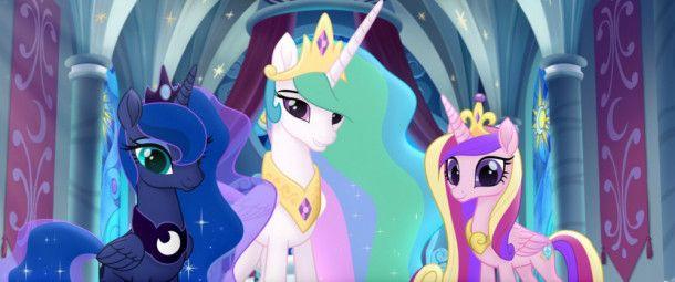Die drei mächtigen Prinzessinnen des Tages, der Nacht und der Familie wollen auch am Freundschaftsfestival teilnehmen.