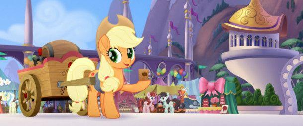 Apple Jack freut sich auf das Freundschaftsfestival.