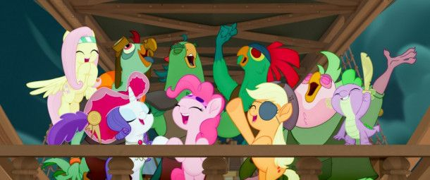 """Motiv aus """"My little Pony - Der Film"""""""