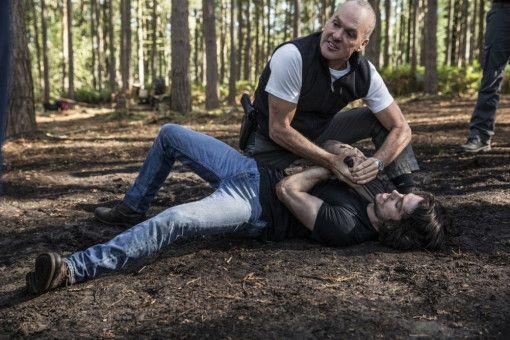 Mitch Rapp (Dylan O'Brien) geht bei Stan Hurley (Michael Keaton, oben) in eine harte Schule.