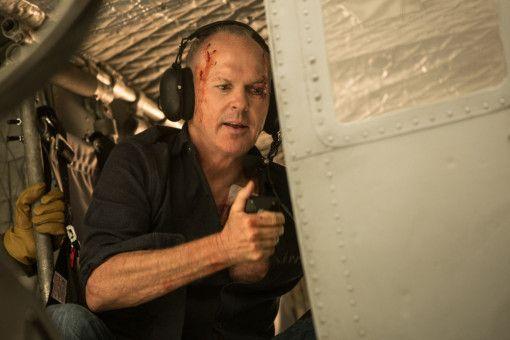 Stan Hurley (Michael Keaton) ist kampfbereit.
