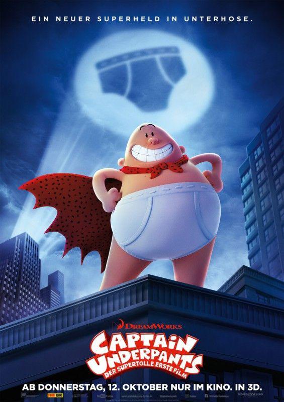 """""""Captain Underpants: Der supertolle erste Film"""" basiert auf den Kinderbüchern Dav Pilkey."""