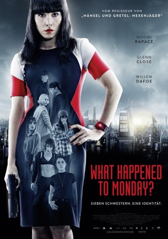 "Noomi Rapace brilliert in dem Sci-Fi-Thriller ""What happened to Monday""."