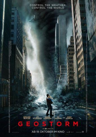 """Der Sci-Fi-Thriller """"Geostorm"""" von Dean Devlin setzt sich mit dem Klimawandel auseinander."""