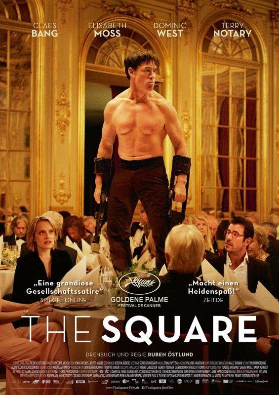 """Der Gewinner der """"Goldenen Palme"""" 2017 in Cannes, """"The Square"""", spielt in der Museums-Szene. Affenmensch Oleg (Terry Notary) ist ein """"Kunstwerk"""" außer Kontrolle."""