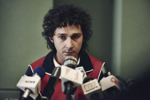 Ein Rüpel auf dem Court und durchaus auch bei Presse-Konferenzen: Shia LaBeouf als John McEnroe.