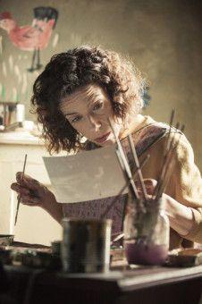 Maud (Sally Hawkins) verkauft zunächst selbst gemalte Postkarten.