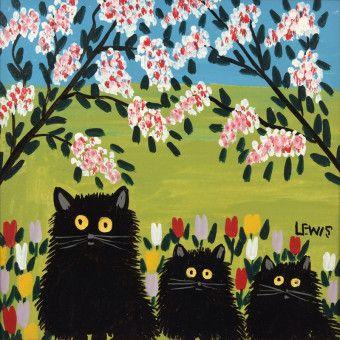 Maud Lewis hat wirklich gelebt: Dies ist eine ihrer Arbeiten. Sie wurde 1903 geboren und starb im Juli 1970 in Digby, Kanada.