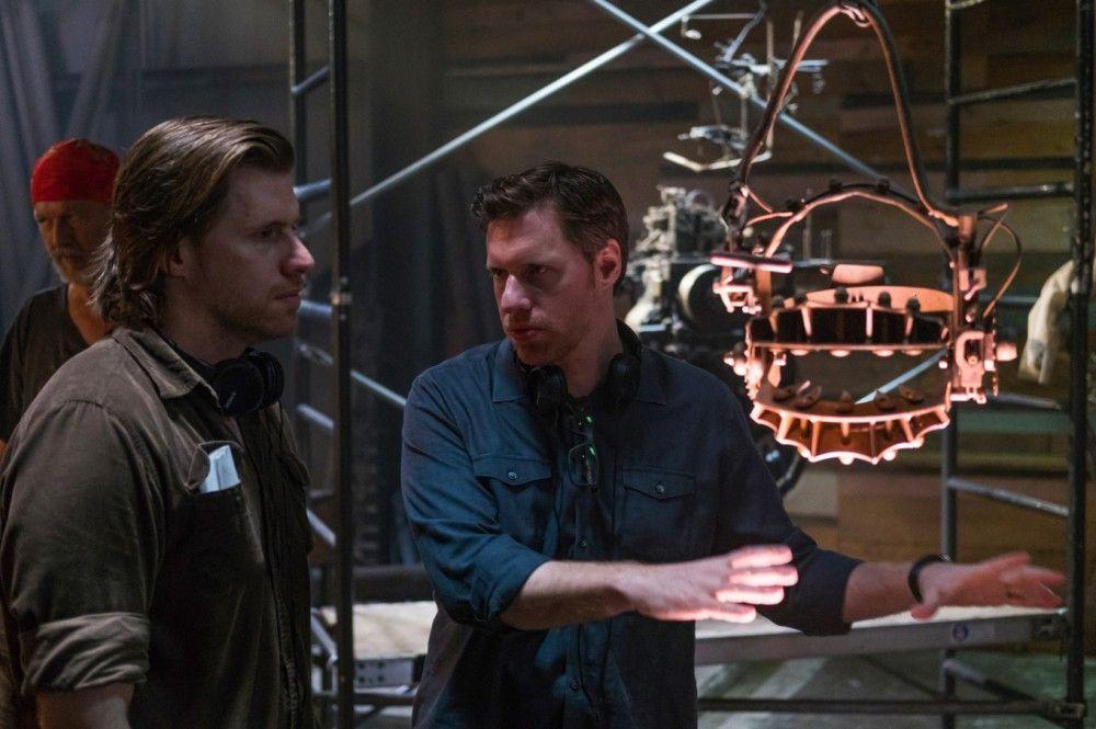 """Peter Spierig (links) und Michael Spierig führten Regie beim achten Film der """"Saw""""-Reihe."""