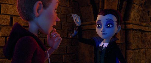 """Motiv aus """"Der kleine Vampir"""""""