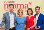 Die Moderatoen des ARD-Morggenmagazins: Sven Lorig, Susan Link, Anna Planken und Til Nassif.