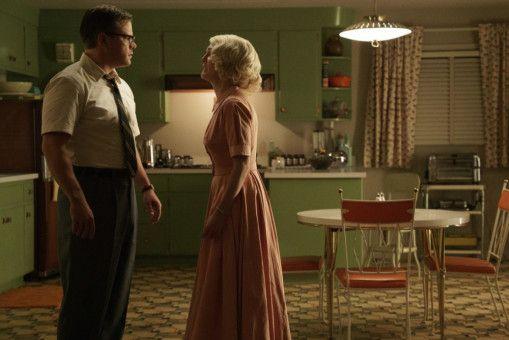 """Matt Damon und Julianne Moore spielen die Hauptrollen in der Gesellschaftssatire """"Suburbicon""""."""