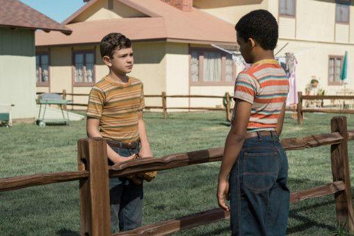 Nicky (Noah Jupe, links) freundet sich mit dem Sohn der Meyers, Andy (Tony Espinosa) an.