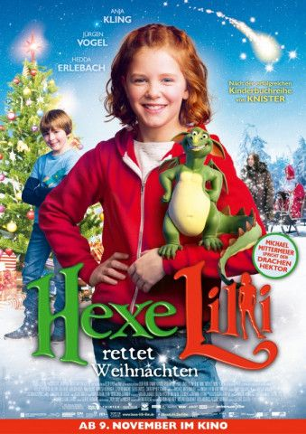 Zum dritten Mal zaubert Hexe Lilli nun in den Kinos - diesmal mit neuer Hauptdarstellerin.