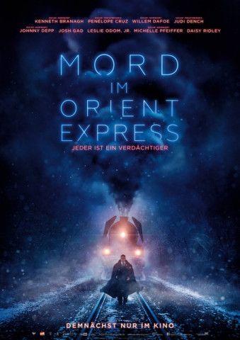 """Der Klassiker von Agatha Christie kommt neu verfilmt ins Kino: """"Mord im Orient Express""""."""