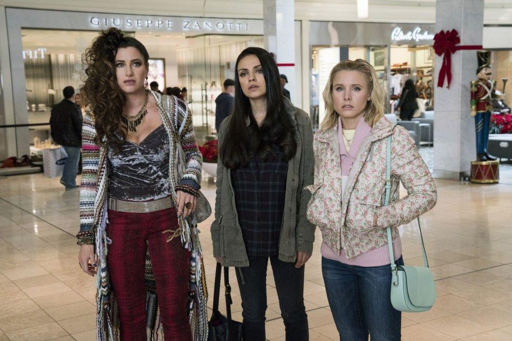Mütter am Rande des Nervenzusammenbruchs: (von links) Carla (Kathryn Hahn), Amy (Mila Kunis) und Kiki (Kristen Bell) hatten sich Weihnachten anders vorgestellt.