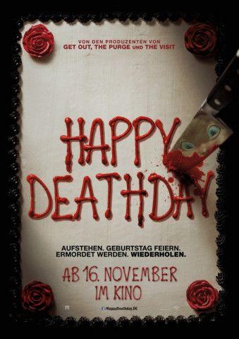 """""""Und täglich grüßt das Murmeltier"""" trifft auf """"Scream"""" - so lässt sich """"Happy Deathday"""" beschreiben."""