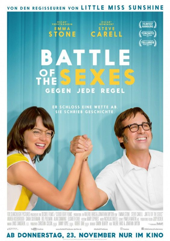 """""""Battle of the Sexes"""" erzählt die Geschichte eines Geschlechterkampfs, ausgetragen auf dem Tennisfeld."""