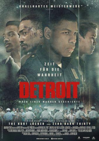 """Action-Regisseurin Kathryn Bigelow widmet sich in ihrem meisterhaft inszenierten Drama """"Detroit"""" wieder einem wichtigen Politthema - den Rassenunruhen 1967 in Detroit."""