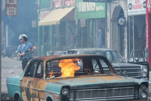 1967 kam es zu schweren Rassenunruhen in Detroit.