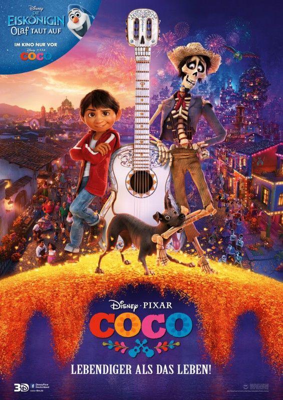 """Der prächtige animierte Film """"Coco - Lebendiger als das Leben"""" erzählt eine ganz besondere, erinnernswerte Geschichte."""