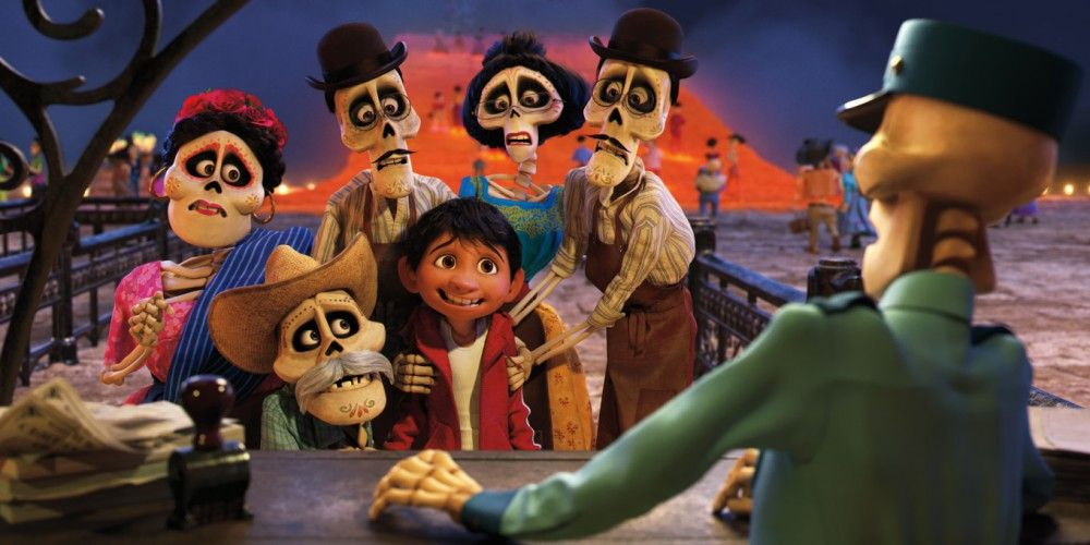 Seine toten Verwandten wollen den noch recht lebendigen Miguel mit ins Reich der Toten nehmen.