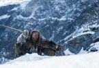 """Immer höher hinauf geht die Reise des """"Eismanns"""" im Hochgebirge, wo er schließlich von einem Pfeil in den Rücken getroffen wird. Die Mumie des Mannes fand man nach 5.300 Jahren fast völlig unversehrt."""