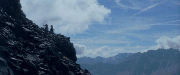 In den Schluchten der Ötztaler Alpen - die Natur spielt mit, sie drängt sich aber nie in den Vordergrund.