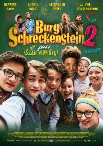 """Ralf Huettner wartet in seinem Sequel """"Burg Schreckenstein 2 - Küssen (nicht) verboten"""" mit der gleichen charmanten Schauspielerriege auf."""
