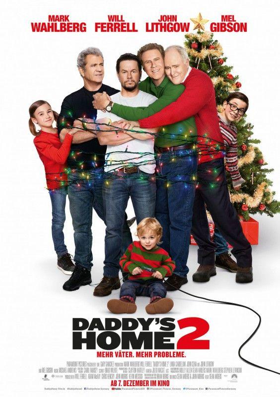 """Zwei Jahre nach """"Daddy's Home - Ein Vater zu viel"""" kommt nun eine weihnachtliche Fortsetzung in die Kinos."""