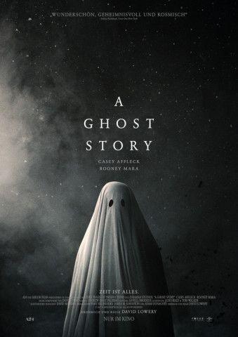 """Titel und Plakat deuten auf einen Horrorfilm hin. Doch """"A Ghost Story"""" ist völlig anders."""