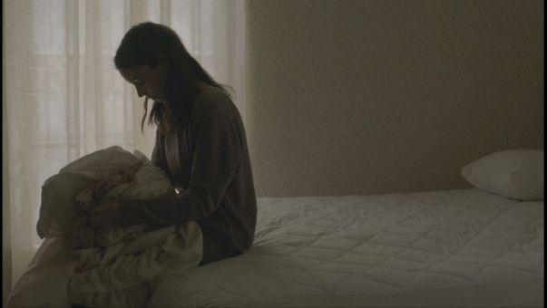 M (Rooney Mara) trauert um ihren Mann.