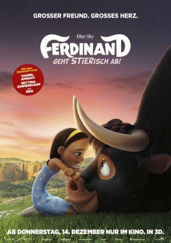 """Nach """"Rio"""" nahmen sich die """"Ice Age""""-Macher das Kinderbuch """"Ferdinand der Stier"""" aus dem Jahre 1935 vor. """"Ferdinand - Geht stierisch ab!"""", heißt das Ergebnis."""