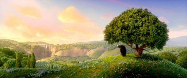 Für Ferdinand gibt es nichts Schöneres, als auf einer Blumenwiese zu sitzen.