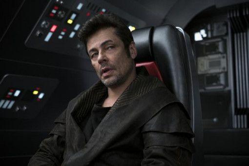 """Benicio Del Toro ist neu auf der Besetzungsliste der """"Star Wars""""-Reihe. Er spielt """"DJ"""" - eine Art Söldner, dem die Frage """"Gut oder Böse?"""" ziemlich egal ist."""