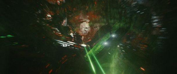 """""""Die letzten Jedi"""" eröffnet mit einer langen, spektakulären Weltraumschlacht."""