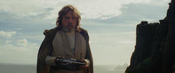 Luke Skywalker (Mark Hamill) weiß, welche Gefahr von fehlgeleiteten Jedi ausgehen kann.