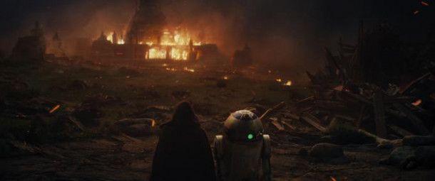 Rückblende: Lukes Mission ist gescheitert.
