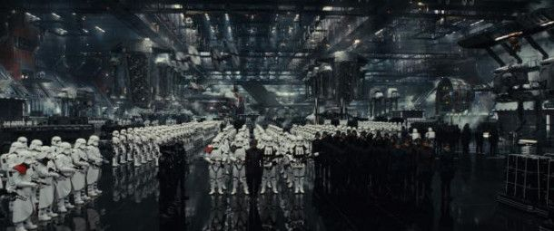 """Motiv aus """"Star Wars: Die letzten Jedi"""""""