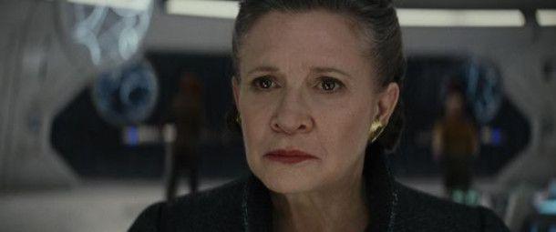 Carrie Fisher spielt auch im achten Film der Reihe Leia Organa. Die Schauspielerin starb im Dezember 2016.