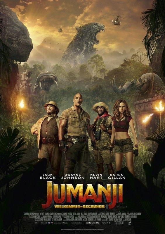 """Die Trommeln rufen wieder: Mehr als 20 Jahre nach dem Original will das Update eines fiesen Abenteuerspiels in """"Jumanji: Willkommen im Dschungel"""" wieder unschuldigen Kids an den Kragen."""