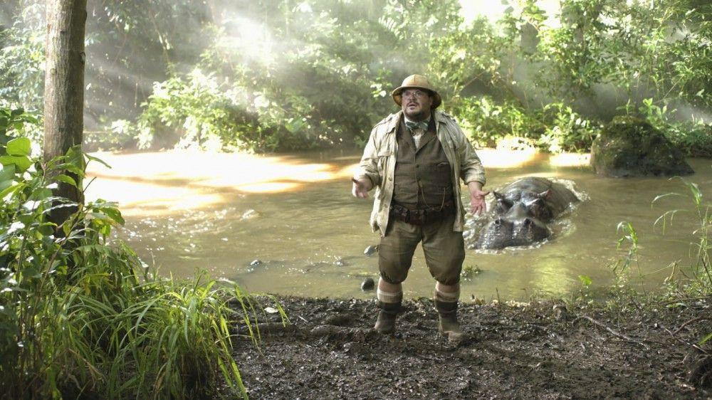 Die Sache mit dem Riesennilpferd im Hintergrund ist für Bethany nicht ganz so schlimm wie der Fakt, dass sie im Körper eines übergewichtigen alten Mannes (Jack Black) steckt.