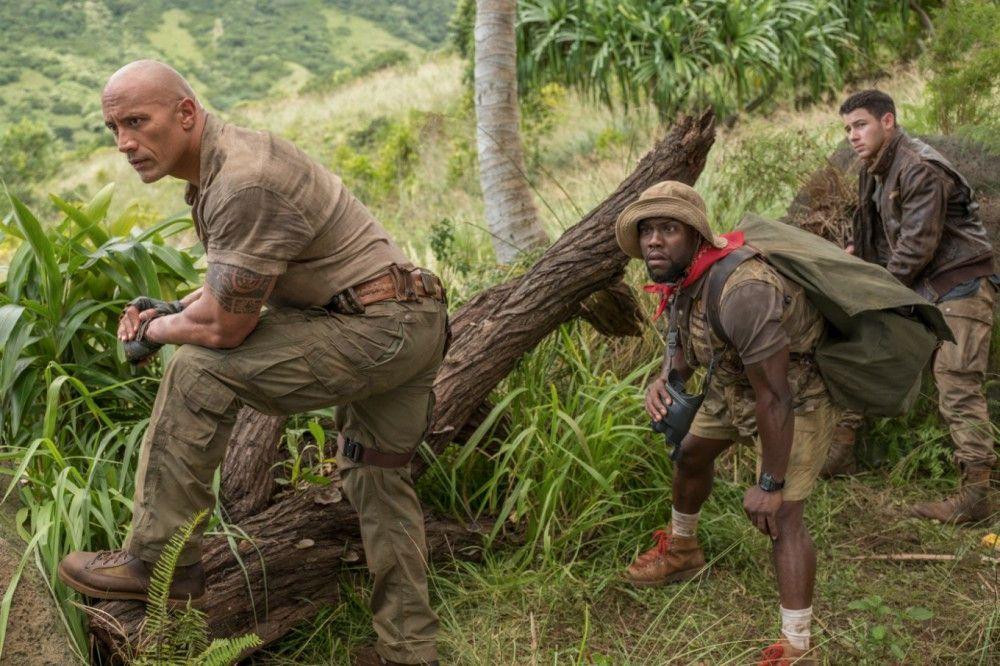 """Motiv aus """"Jumanji: Willkommen im Dschungel"""""""